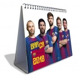 Calendario Sobremesa Deluxe 2018 FC Barcelona