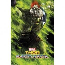 Poster Thor Ragnarok Hulk Green Dust