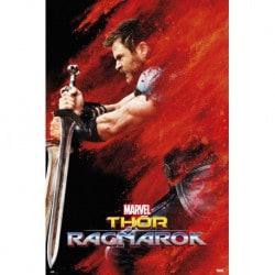 Poster Thor Ragnarok Thor Red Dust
