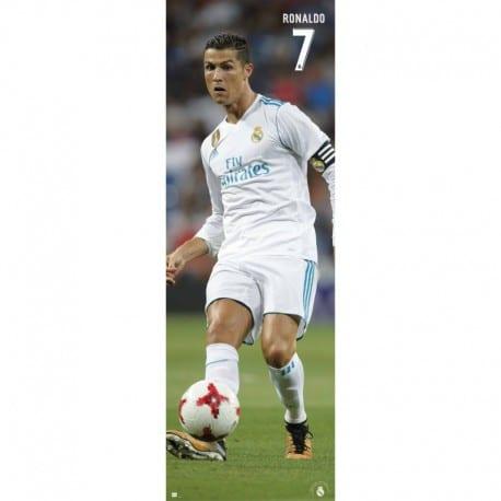 Poster Puerta Real Madrid 2017/2018 Ronaldo