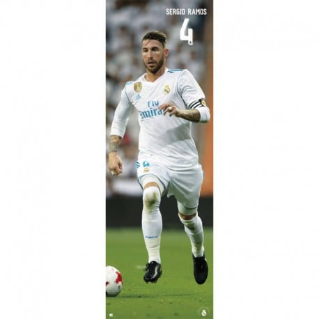 Poster Puerta Real Madrid 2017/2018 Sergio Ramos