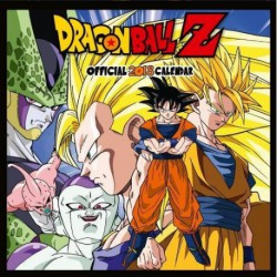Calendario 2018 Dragon Ball Z