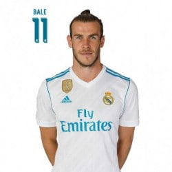 Postal Real Madrid 2017/2018 Bale