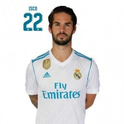 Postal Real Madrid 2017/2018 Isco