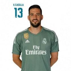 Postal Real Madrid 2017/2018 K. Casilla