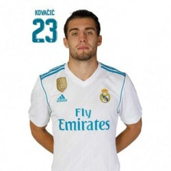 Postal Real Madrid 2017/2018 Kovacic