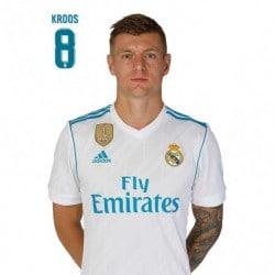 Postal Real Madrid 2017/2018 Kroos