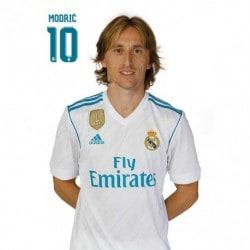 Postal Real Madrid 2017/2018 Modric