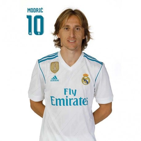 Postal Real Madrid 2017/2018 Modric