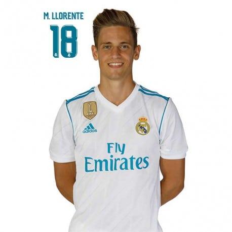 Postal Real Madrid 2017/2018 M. Llorente