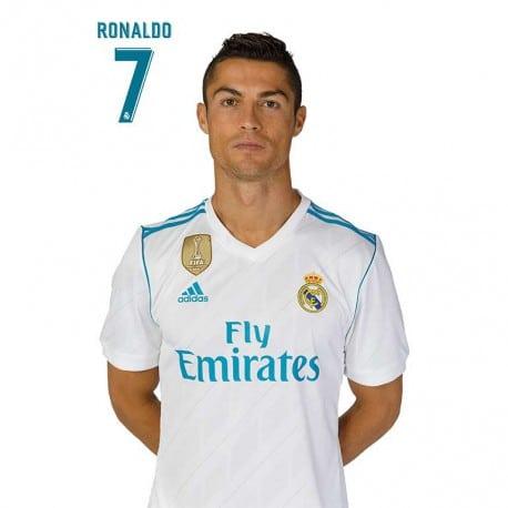 Postal Real Madrid A4 2017/2018 Ronaldo
