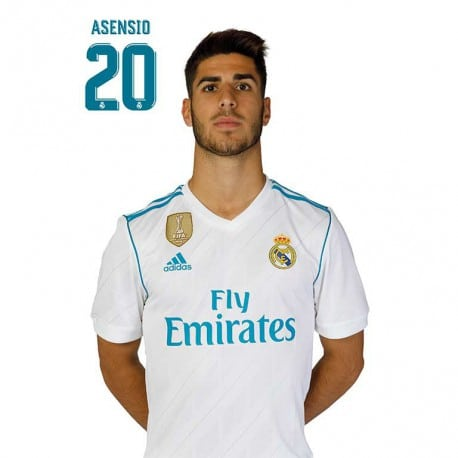 Postal Real Madrid A4 2017/2018 Asensio