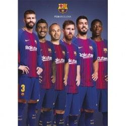 Postal FC Barcelona 2017/2018 Grupo
