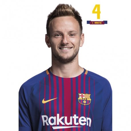 Postal FC Barcelona 2017/2018 I. Rakitic