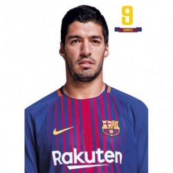 Postal FC Barcelona 2017/2018 Luis Suarez