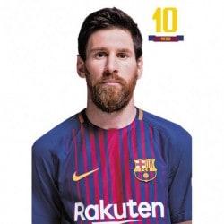 Postal FC Barcelona 2017/2018 Messi