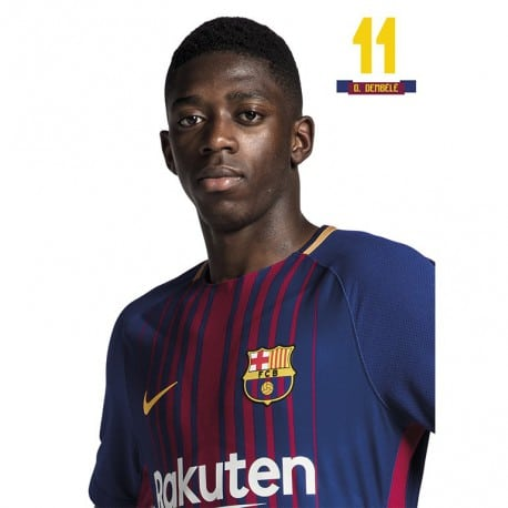 Postal FC Barcelona 2017/2018 Dembele