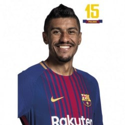 Postal FC Barcelona 2017/2018 Paulinho