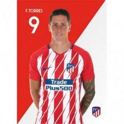 Postal Atletico Madrid 2017/2018 F. Torres