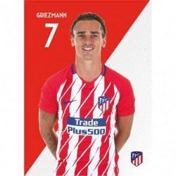 Postal Atletico Madrid 2017/2018 Griezmann