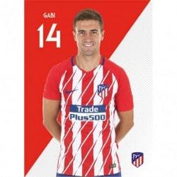 Postal Atletico Madrid 2017/2018 Gabi