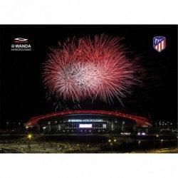 Postal Atletico Madrid 2017/2018 Estadio Wanda Metropolitano