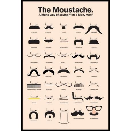Poster The Moustache