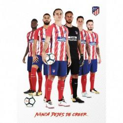 Postal Atletico Madrid 2017/2018 Grupo