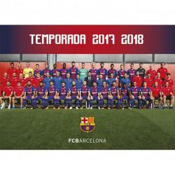 Postal FC Barcelona 2017/2018 Plantilla