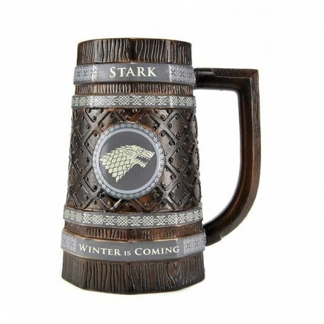 Jarra de Cerveza Juego de Tronos Stark