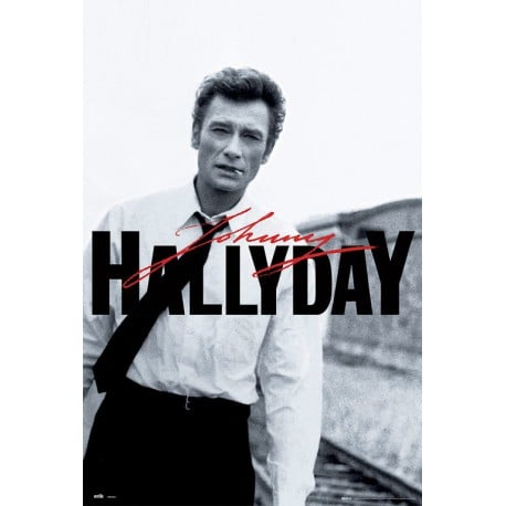 poster johnny hallyday. Black Bedroom Furniture Sets. Home Design Ideas