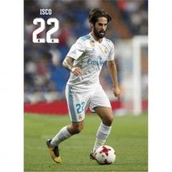 Postal Real Madrid 2017/2018 Isco Accion