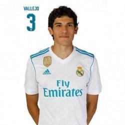 Postal Real Madrid 2017/2018 Vallejo