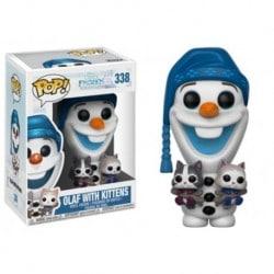 Figura Pop Frozen Olaf W/ Kittens- 9 cm