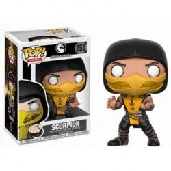 Figura Pop Mortal Kombat Scorpion -9 cm