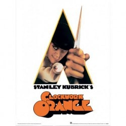 Art Print 30X40 A Clockwork Orange Dagger