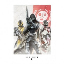Art Print 30X40 Destiny 2 Trio