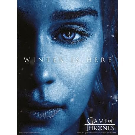 Art Print 30X40 Juego de Tronos Winter Is Here Daenerys