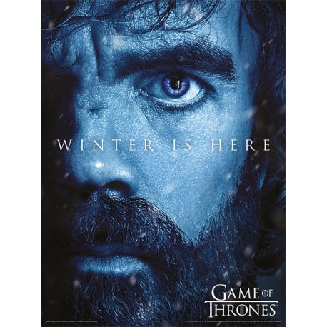 Art Print 30X40 Juego de Tronos Winter Is Here Tyrion