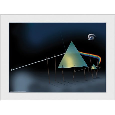 Art Print 30X40 Pink Floyd Dali