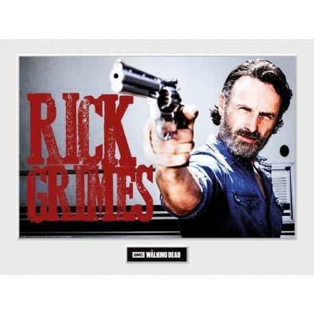 Art Print 30X40 The Walking Dead Rick Grimes