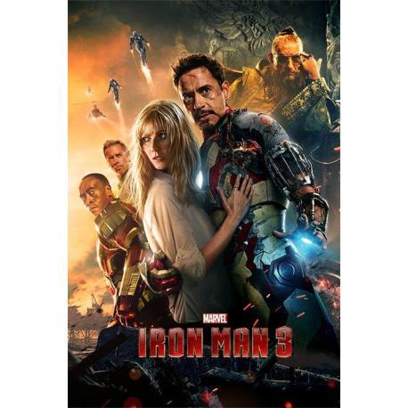 Poster Iron Man 3 (One Sheet)