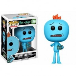 Figura Pop Rick And Morty Mr Meeseeks With Box - 9 cm