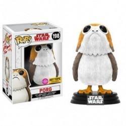 Figura Pop Star Wars VIII Porg Flocked - 9 cm