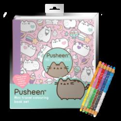 Libro de Viaje para Colorear Pusheen