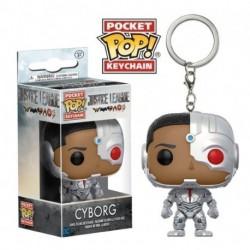 Llavero Pop DC Liga de la Justicia Cyborg
