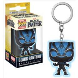 Llavero Pop Marvel Black Panther (Brilla en la oscuridad)