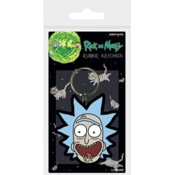 Llavero Rick And Morty Rick Crazy Smile