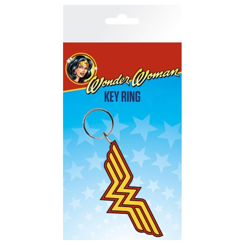 Llavero wonder woman logo for Puerta wonder woman