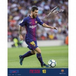 Mini Poster FC Barcelona 2017/2018 Messi